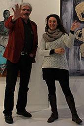 Audrey Peraldi und Peter Herrmann