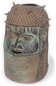 Kopf der Benin-Kultur