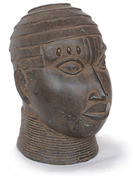 Gedenkkopf der Benin-Kultur