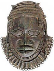 Maske Edo-Stil