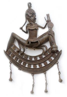 Reiterfigur der Tada-Kultur