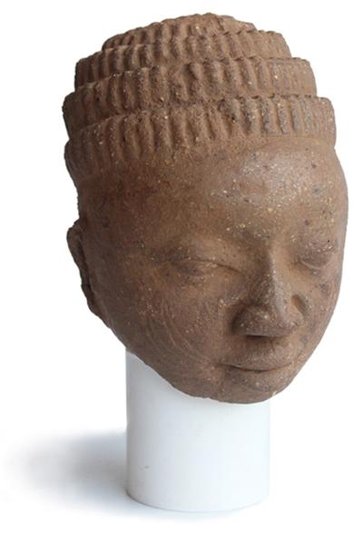Kopf der Owo-Kultur | Terrakotta