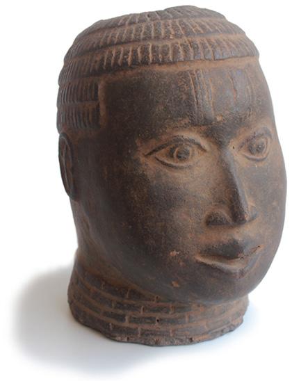 Benin-Kultur | Kopf | Terrakotta