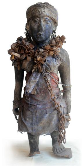 Wächterfigur der Mono; Togo