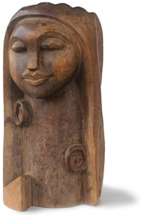Skulptur von Paul Ahyi
