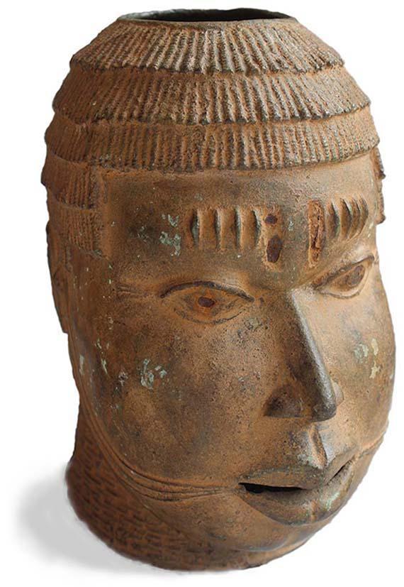 Head Benin Culture Nigeria
